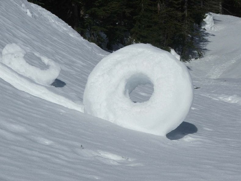 снежных шаров